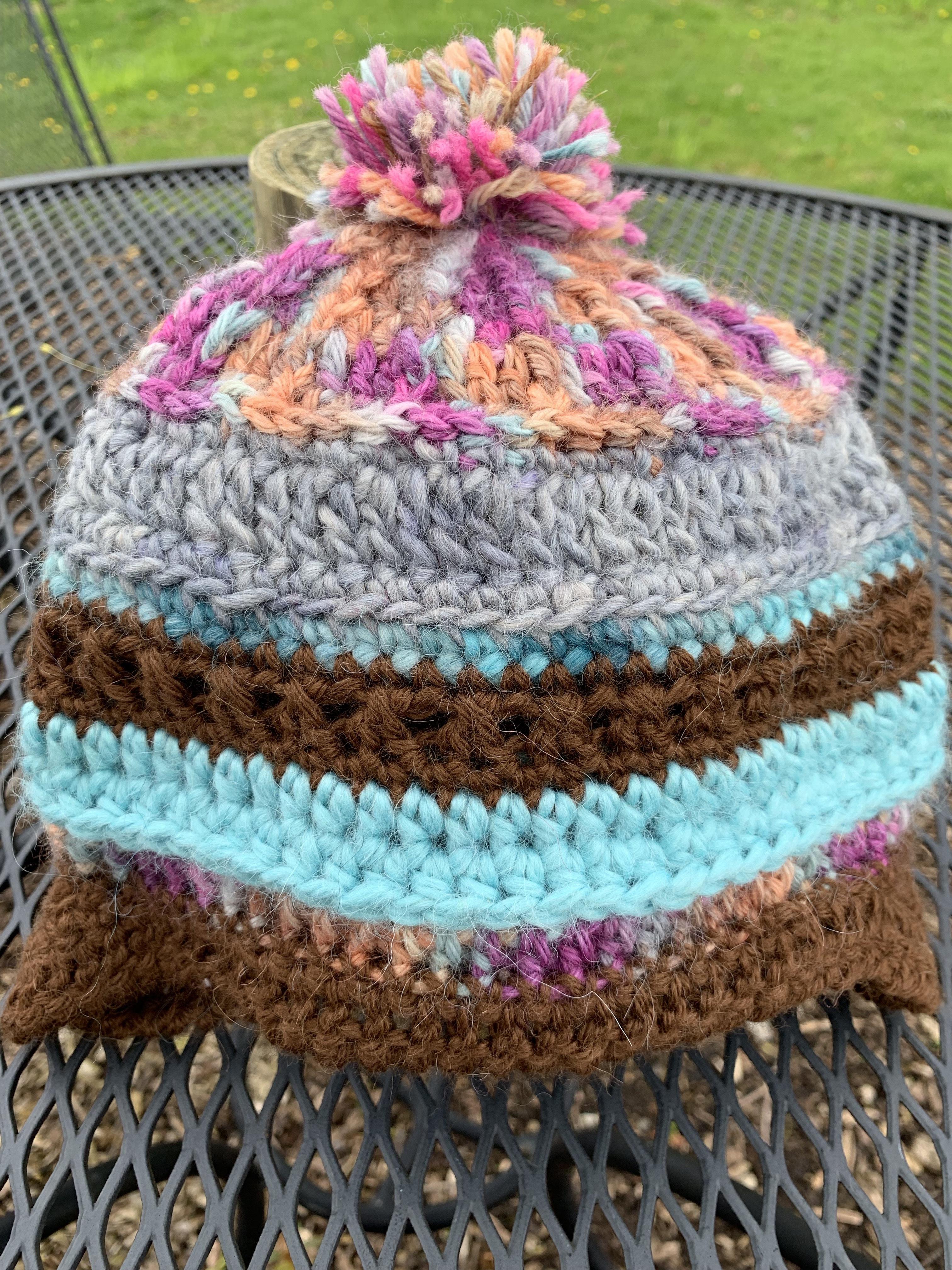 Handmade Alpaca Chullo Hat - 1-3 Years 18443