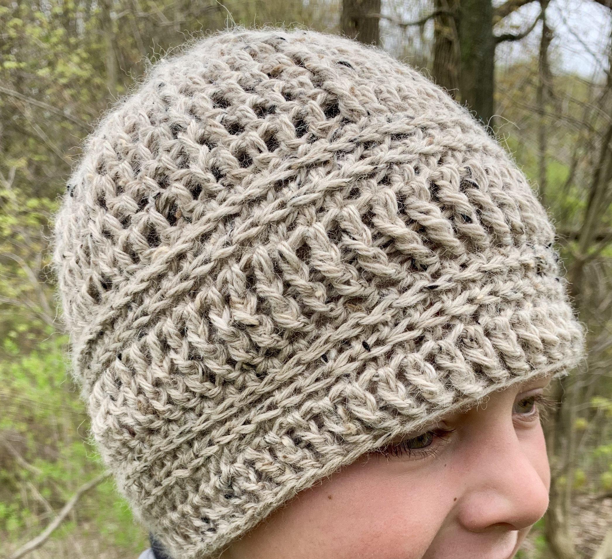 Classic Alpaca Tweed Hat 18446