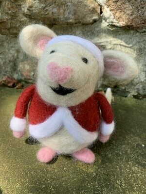 Christmas Mouse Felting Class