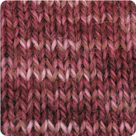 Hand-Dyed Swizzle Alpaca Yarn - Rose AYC-071124