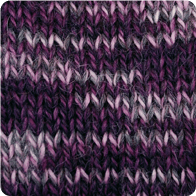 Hand-Dyed Swizzle Alpaca Yarn - Plum Perfection AYC-071125