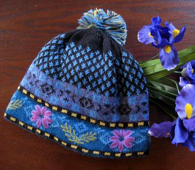 Blue Meadow Lined Hat PL-17442