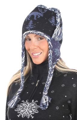 Alpaca Moose Hat - Lined