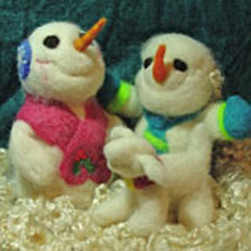 Snowman Felting Kit B2B-111100