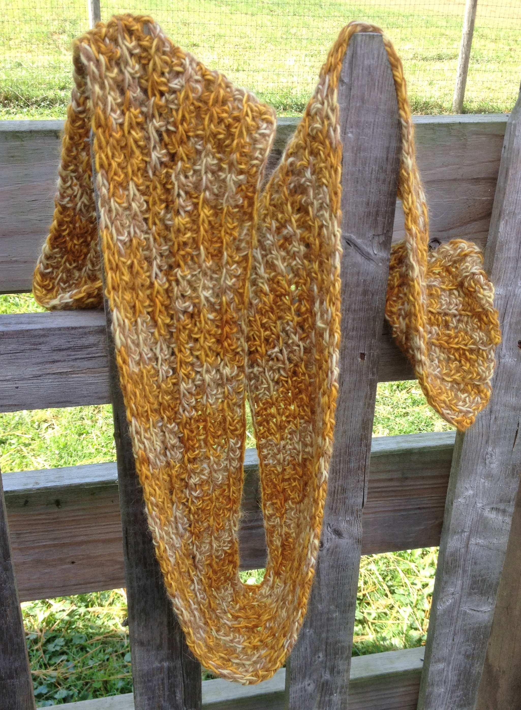 Swizzle Alpaca Ribbed Scarf - Made to Order