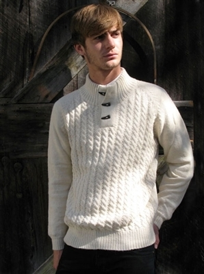 Toggle Alpaca Pullover