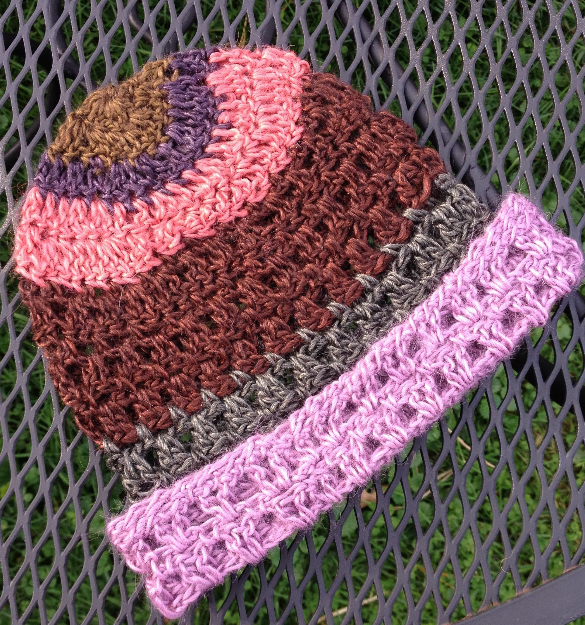 Striped Astral Hat 18063