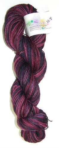 Alpaca and Superwash Wool Sock Yarn - Mixed Berries