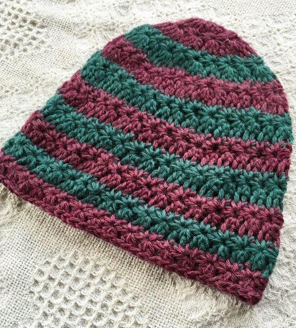 Star Striped Alpaca Hat 17889