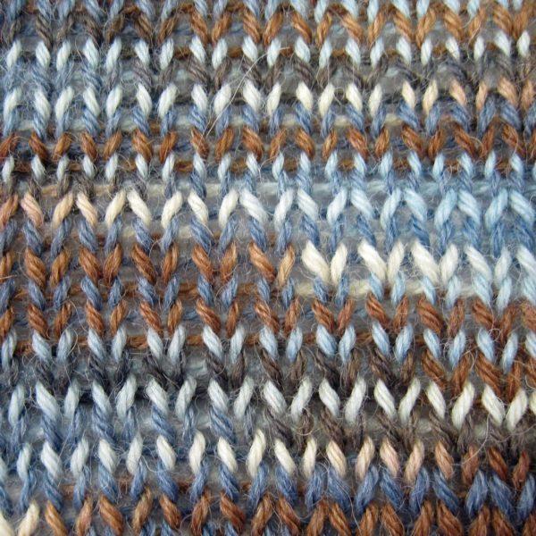 Alpaca and Superwash Wool Sock Yarn - Winter Woods AYC-636