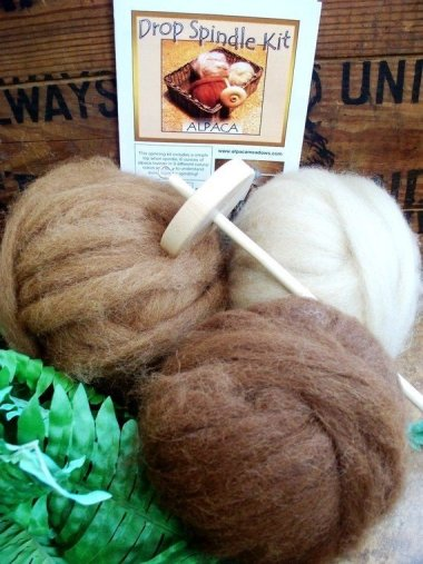 Alpaca Drop Spindle Kit