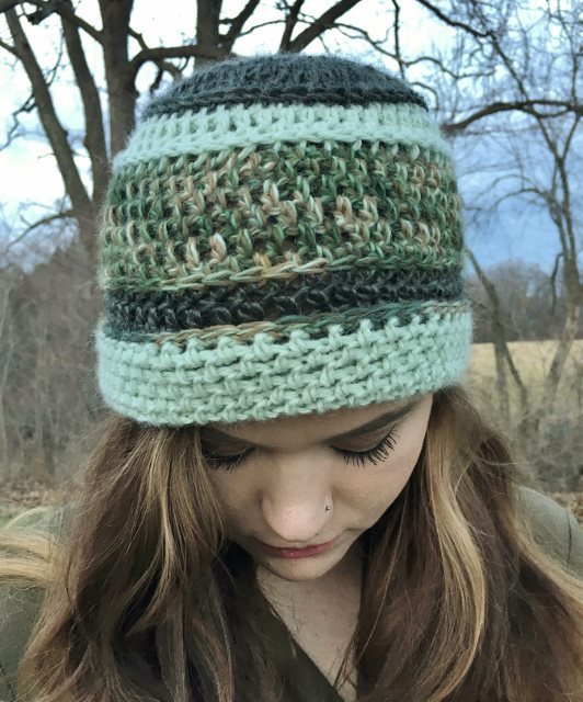 Multi-Color Green Hat - Camo 17820