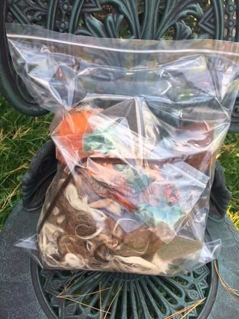 Pumpkin Needle Felting Kit
