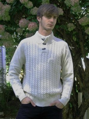 Toggle Alpaca Pullover PL-46559