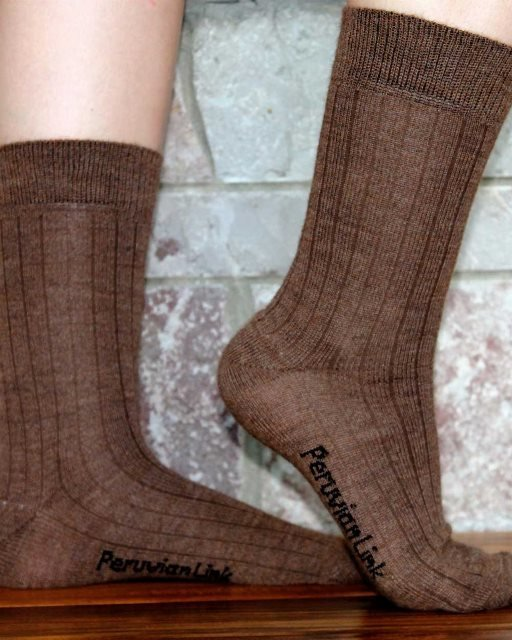 Alpaca Dress Socks PL-16663