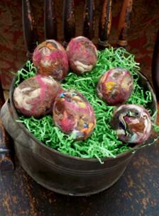Felted Easter Eggs