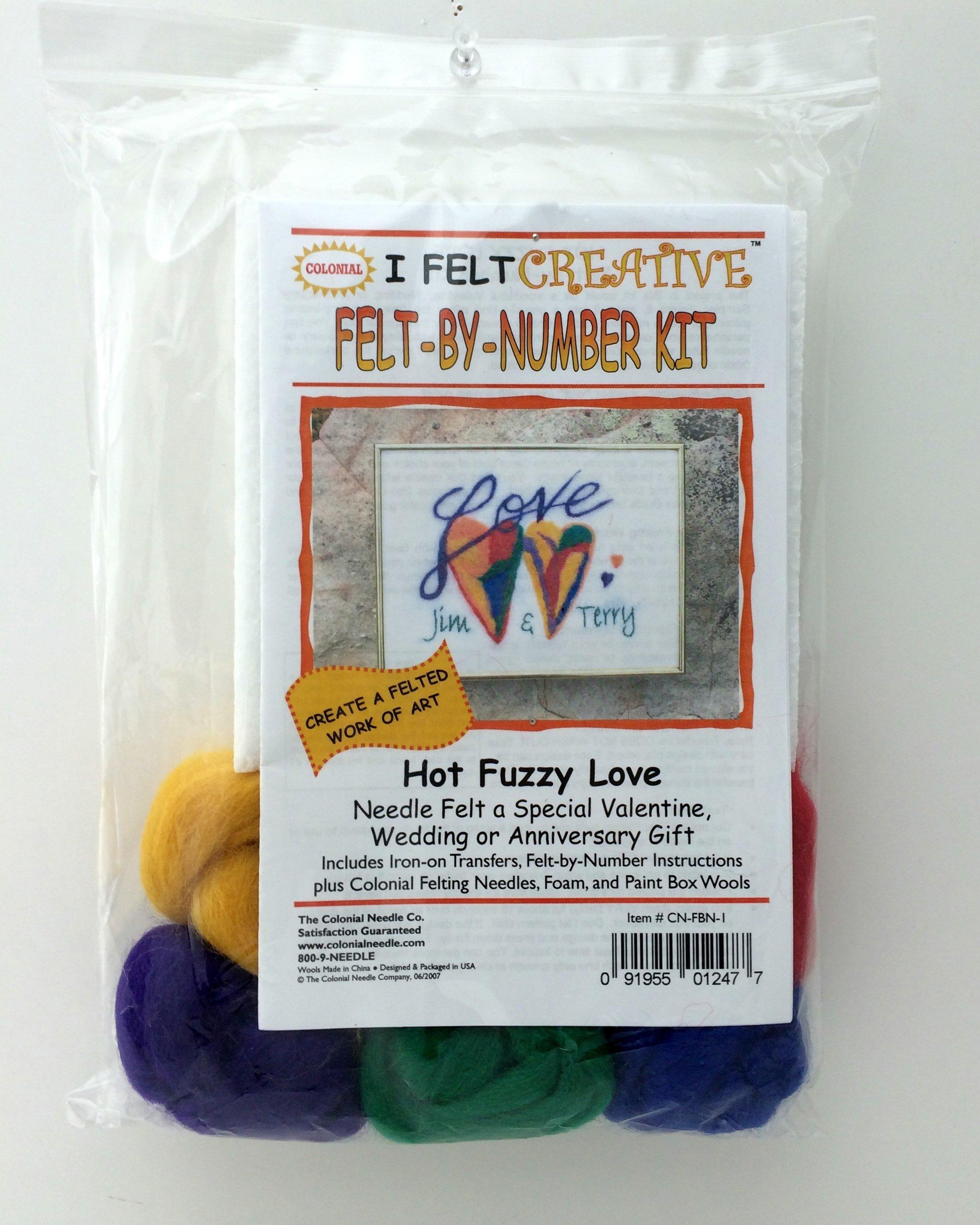Felt by Number Kit CN-FBN-1