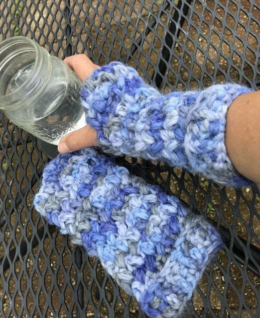 Bulky Fingerless Gloves - Snuggle 18221