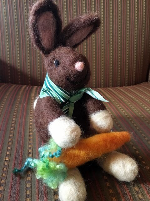 Bunny Felting Class 00072
