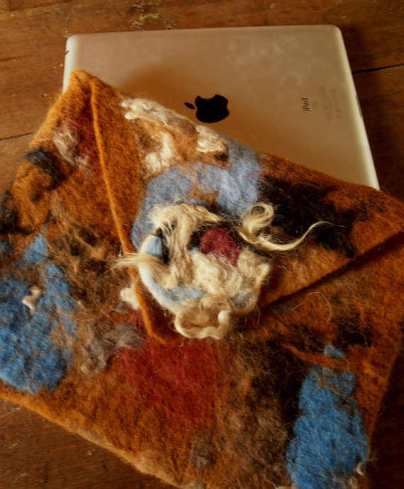 Purse Wet Felting Class