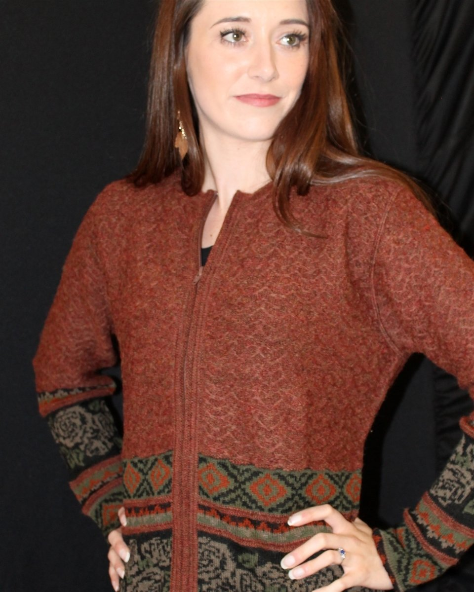 Waverly Ladies Alpaca Sweater 18166