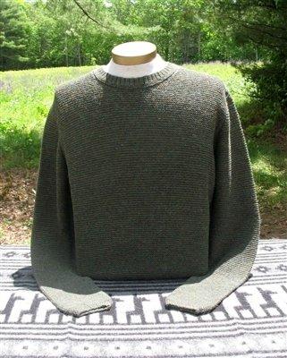 Shaker Men's Alpaca Sweater