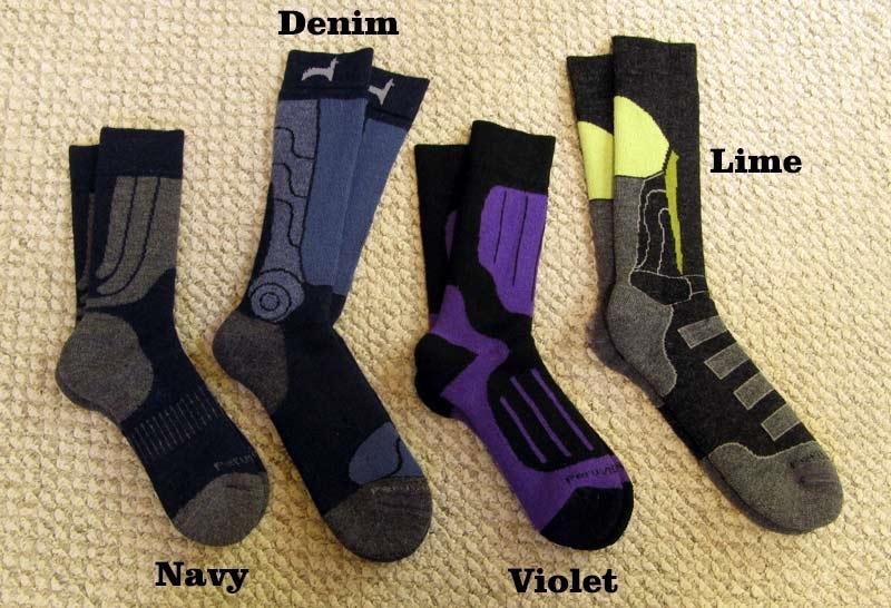 Fun Outdoor Alpaca Socks