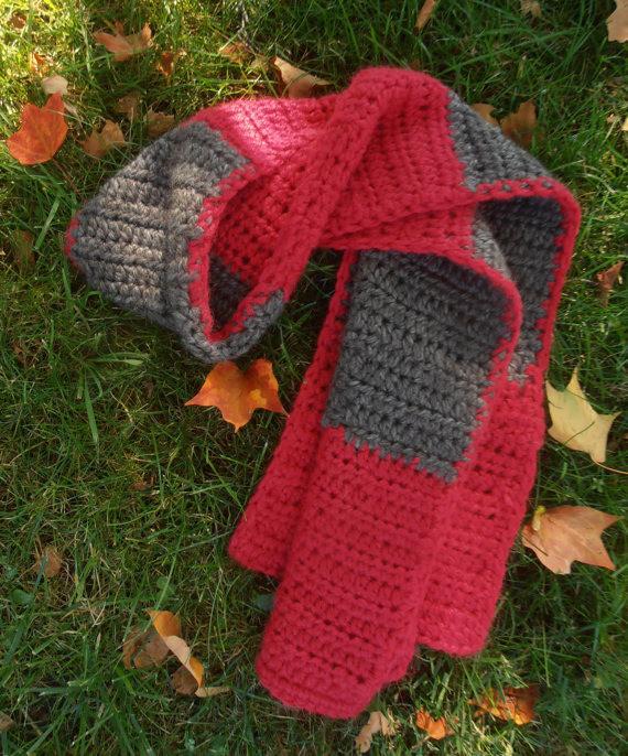 Color Block Scarf Crochet Class