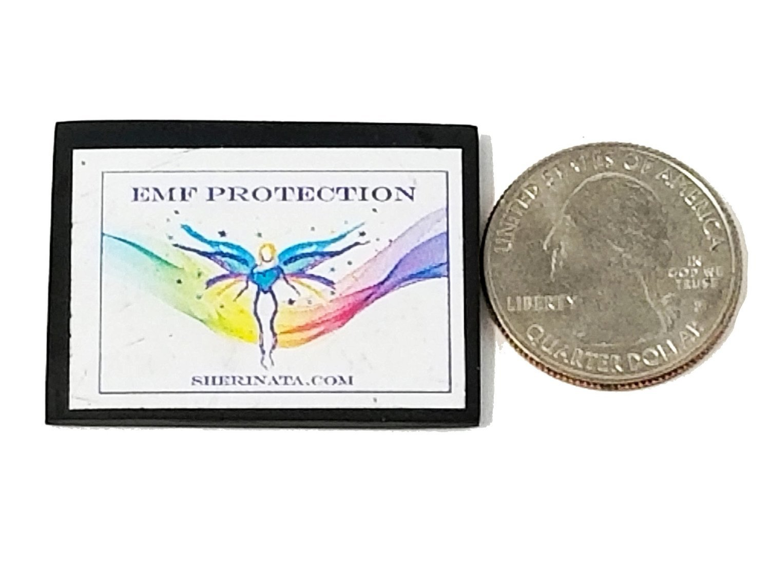 EMF Protection Electronic Mini Plate - For Electronic Devices