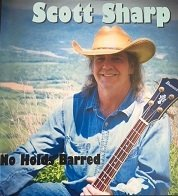 No Holds Barred 12 Song CD by Scott Sharp (Physical Disc) 00015