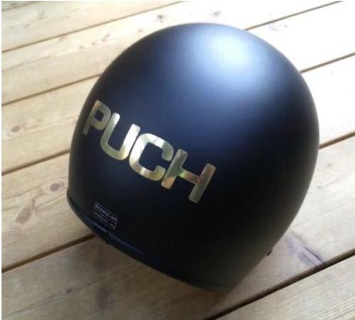 Golden Puch sticker - 3x12cm