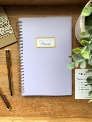 Lavender 2019 Lifestyle Planner