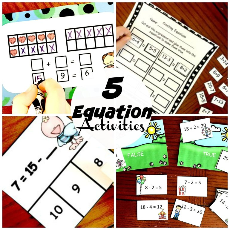 5 Equation Activities 00015