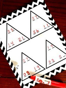 20 Math Games for K - 2 Grade