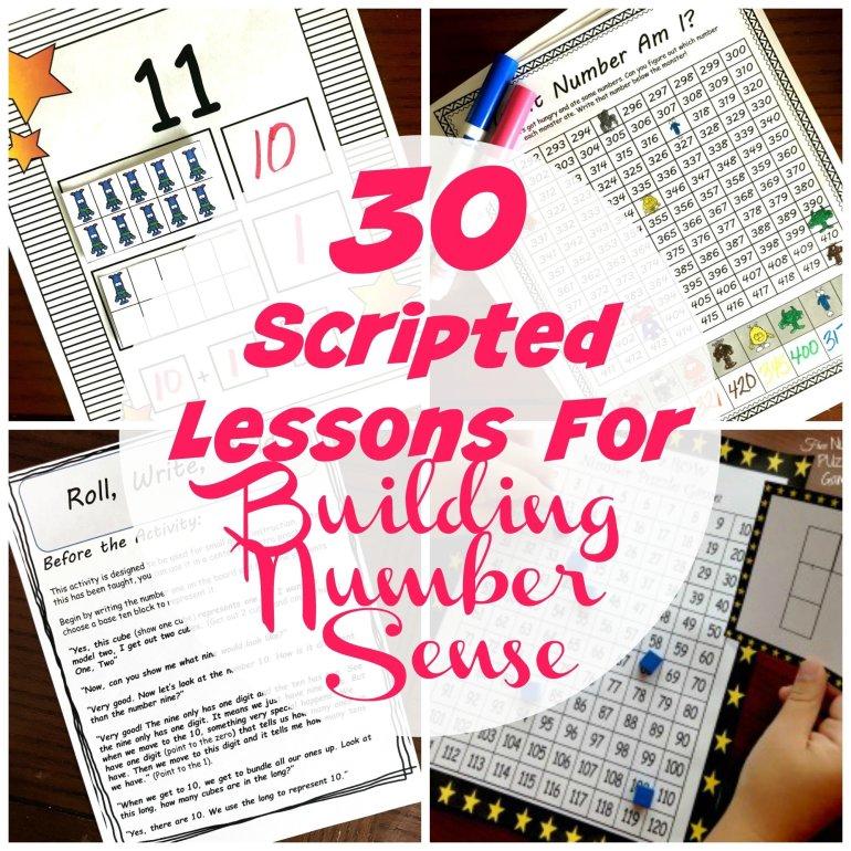 30 Scripted Lessons for Building Number Sense 00058