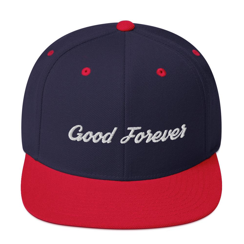 Good Forever Signature Snapback Hat