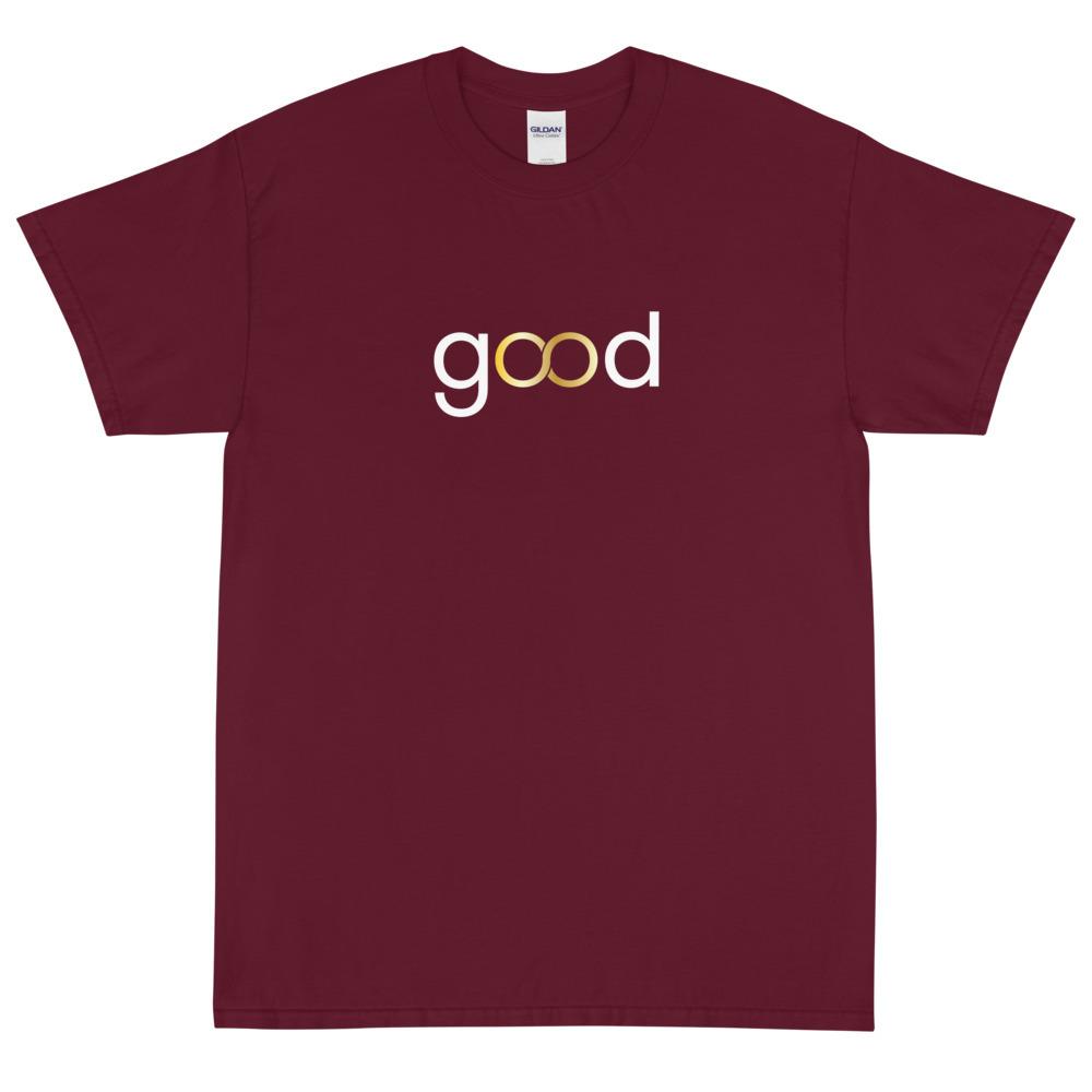 Good Forever Infinity Crimson Short Sleeve T-Shirt 00060