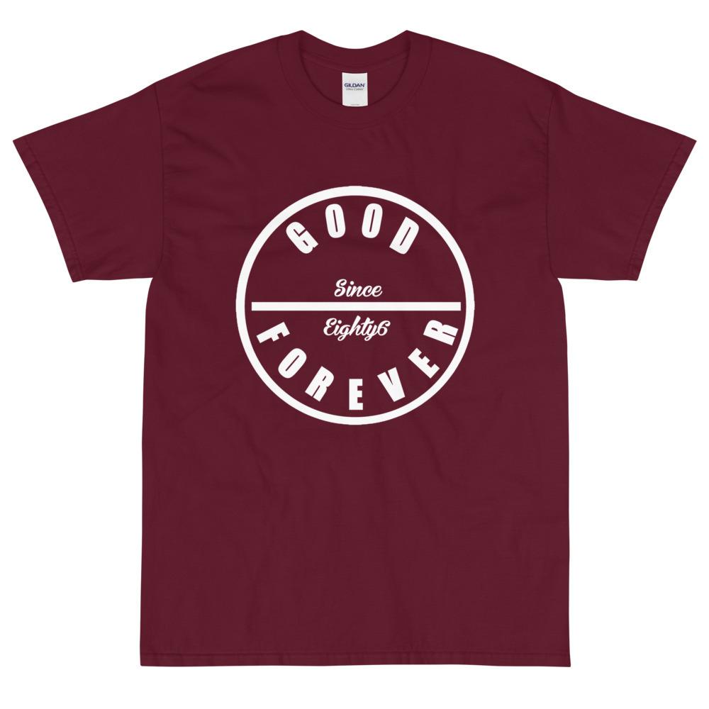 Good Forever Crimson Short Sleeve T-Shirt 00074