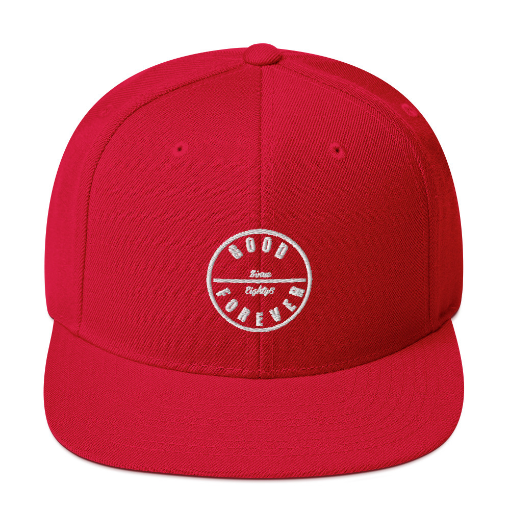 Good Forever 86 Candy Red Snapback  00081