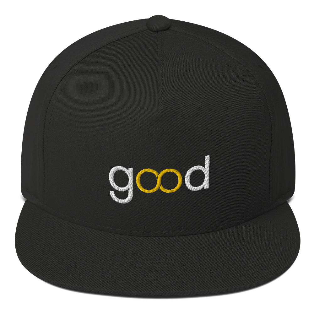 Good Forever Infinity Flat Bill Cap 00089