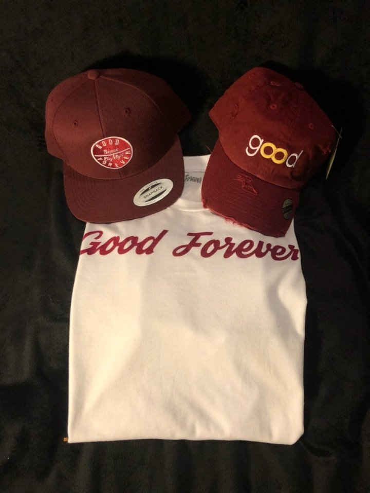 Good Forever White/Crimson Signature Combo Pack 00034