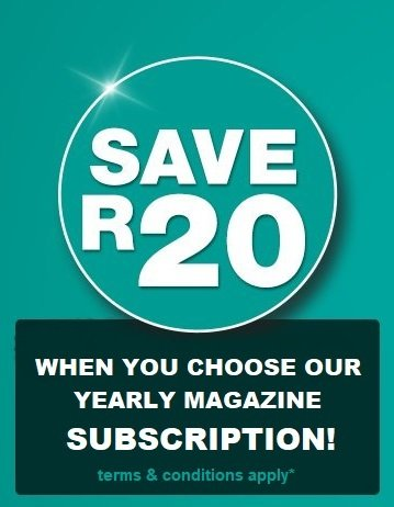 Yearly Subscription (SAVE R20)