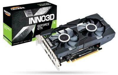 INNO3D GEFORCE GTX 1650 4 GB TWIN X2 OC GRAPHIC CARD