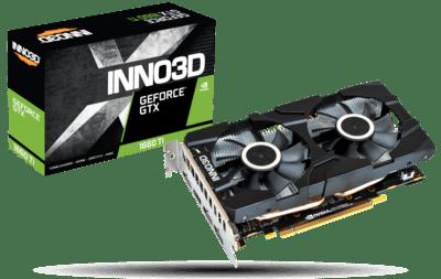 INNO3D GEFORCE GTX 1660 TI TWIN X2 6GB GRAPHIC CARD
