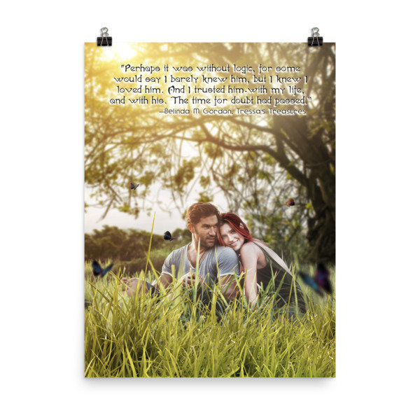 Tressa and Xander 'I love you' Poster