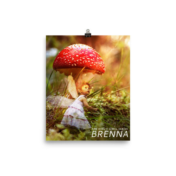 Brenna the Pixie Poster