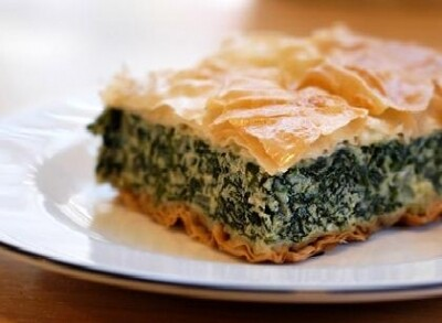 Spanakopita (aka Greek Spinach Pie)