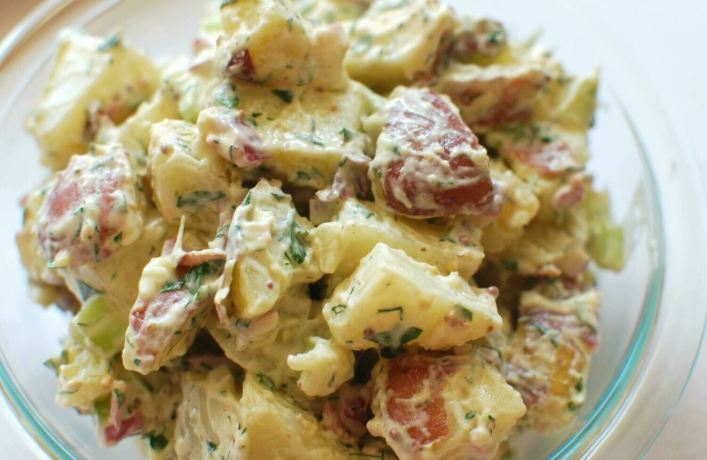 Potato-Sunchoke Salad (1 qt)
