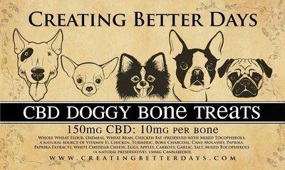 Large CBD Dog treats  (10 mg per biscuit)