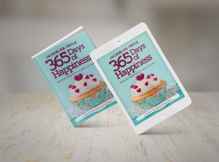365 Days of Happiness - autographed paperback